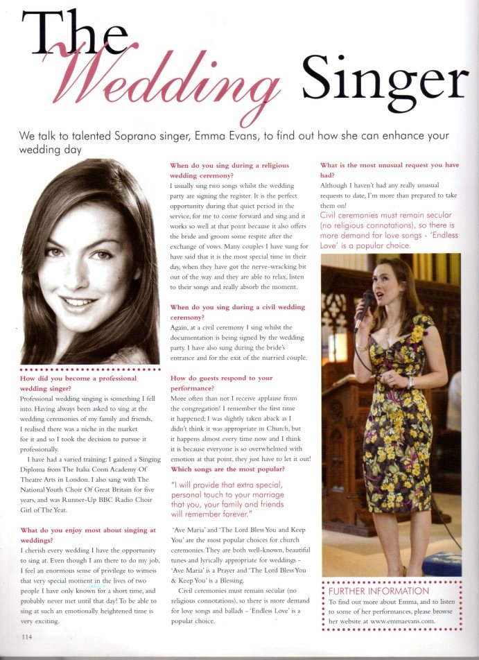 An Essex Wedding interview